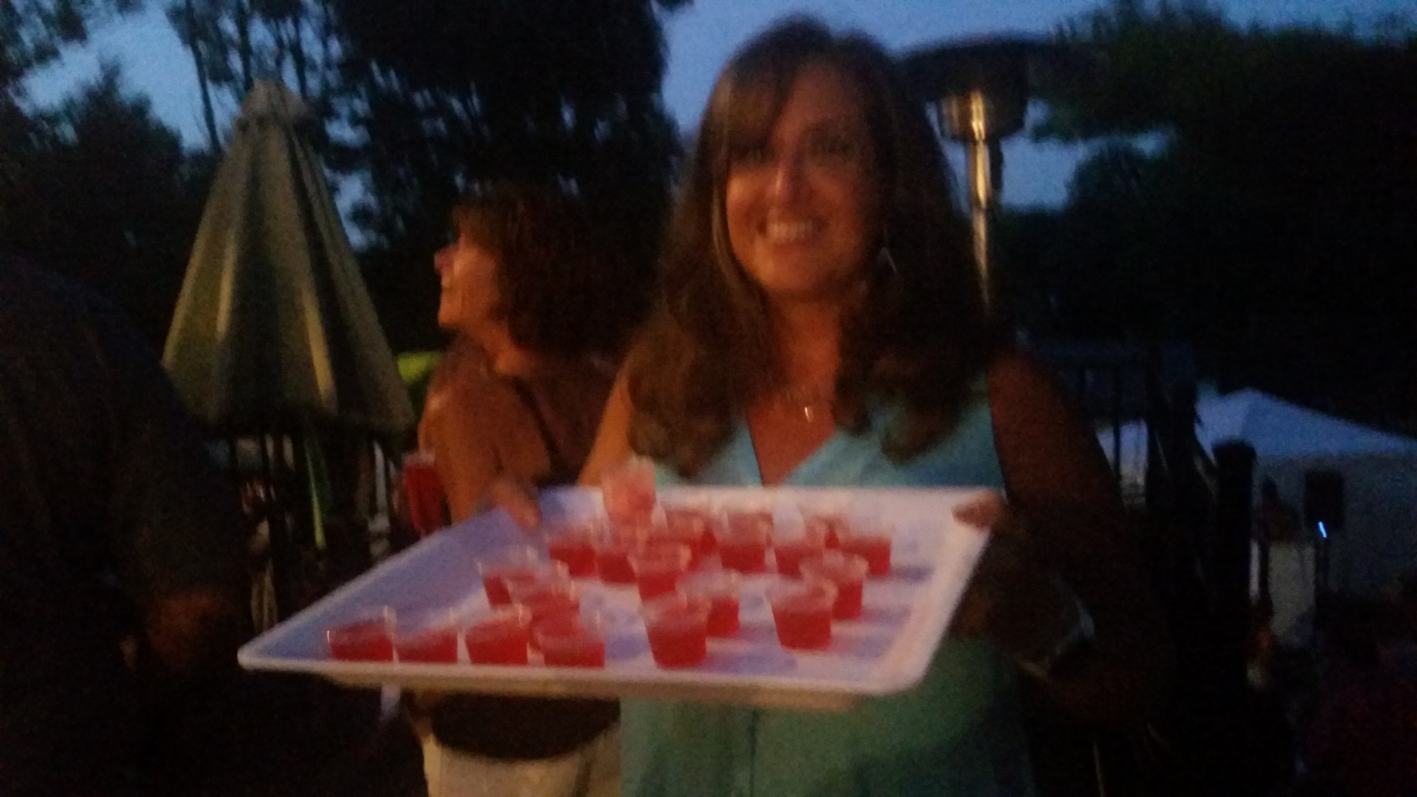Jello shots are a festive addition to any party