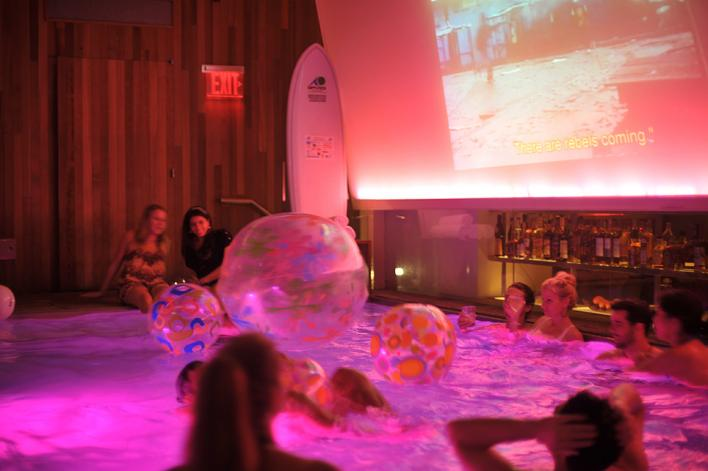 The Infamous Swimming Pool Party At Roommate Grace Hotel January 30 2016 8 P M Manhattanbabe
