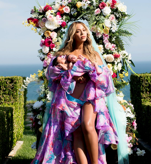 Beyonce and her twins make their debut