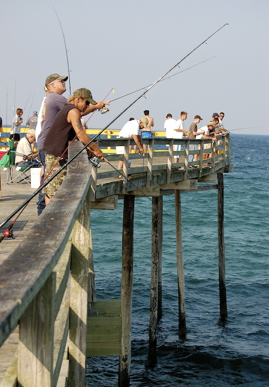 Pier Fishing Outer Banks