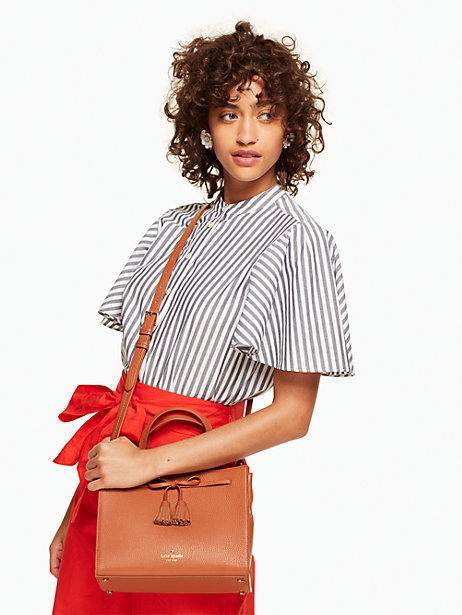 The Kate Spade Hayes Street Small Isobel is one of our favorite new bags.