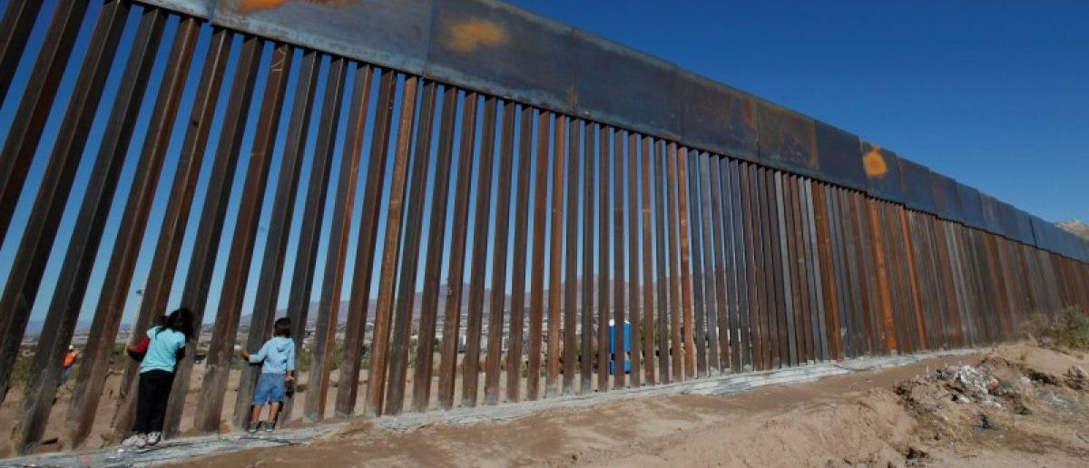 New Border wall along U.S. Mexico border