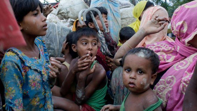 Rohingya muslims have fled Myanmar