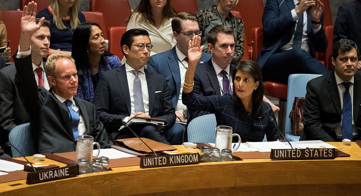 Nickey HaNickey Haley, U.S. ambassador to U.Nley, U.S. ambassador to U.N