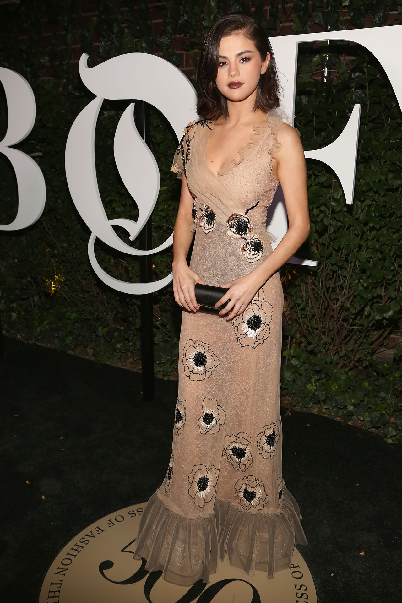 Selena Gomez S Wows At The Business Of Fashion Gala Manhattanbabe