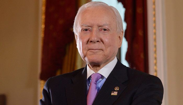 Senator Orin Hatch announces retirement