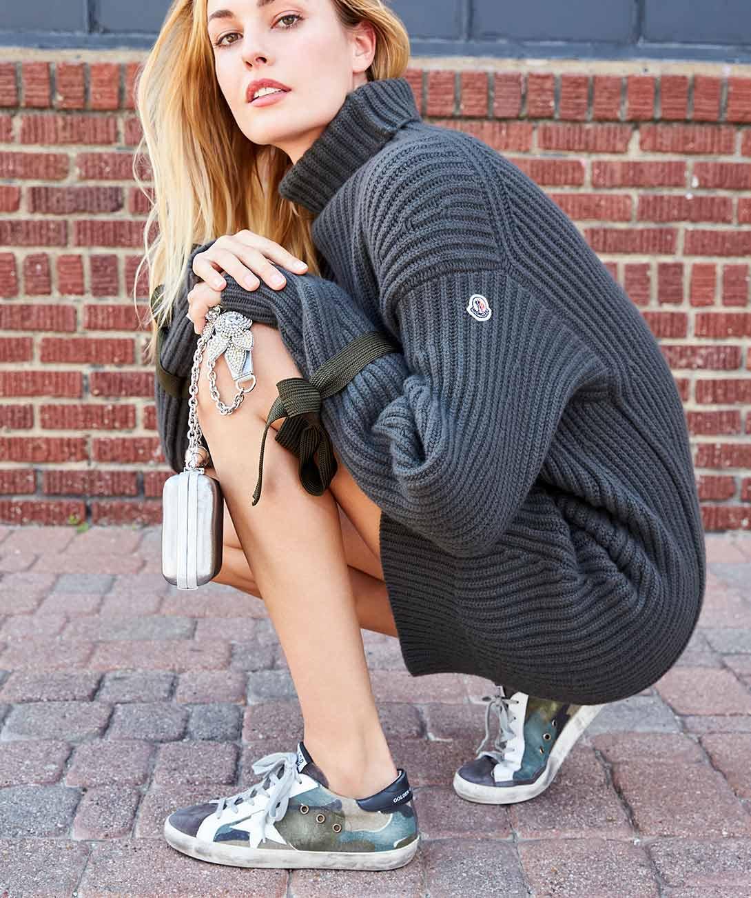 Fresco zapatillas de deporte de impresión de chicas (Neiman Marcus
