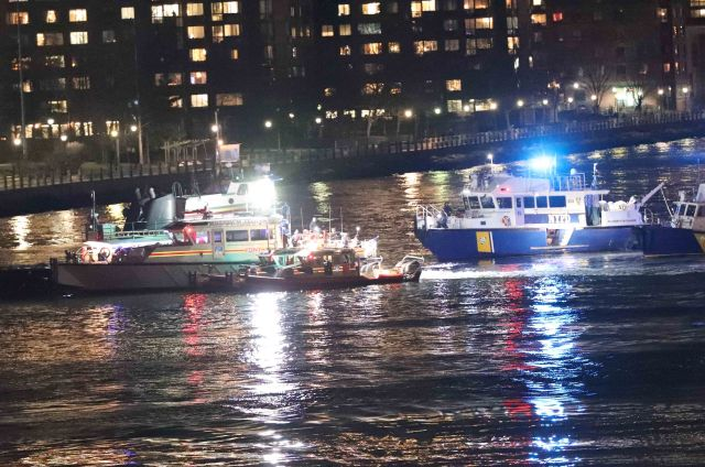 2 Dead After Helicopter Crash On The East River