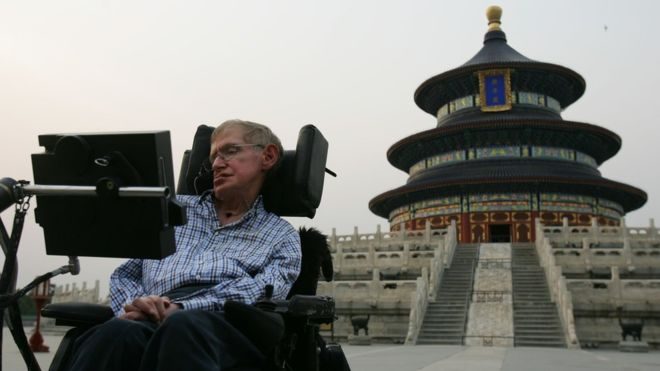 Stephen Hawking in China (Getty Images)