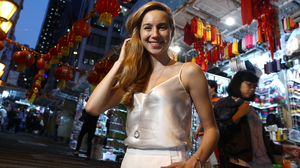 Hong Kong-based entrepreneur Boryana Uzunova (South China Morning Post)