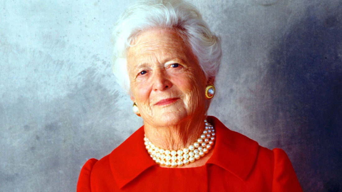 Barbara Bush Passes Away