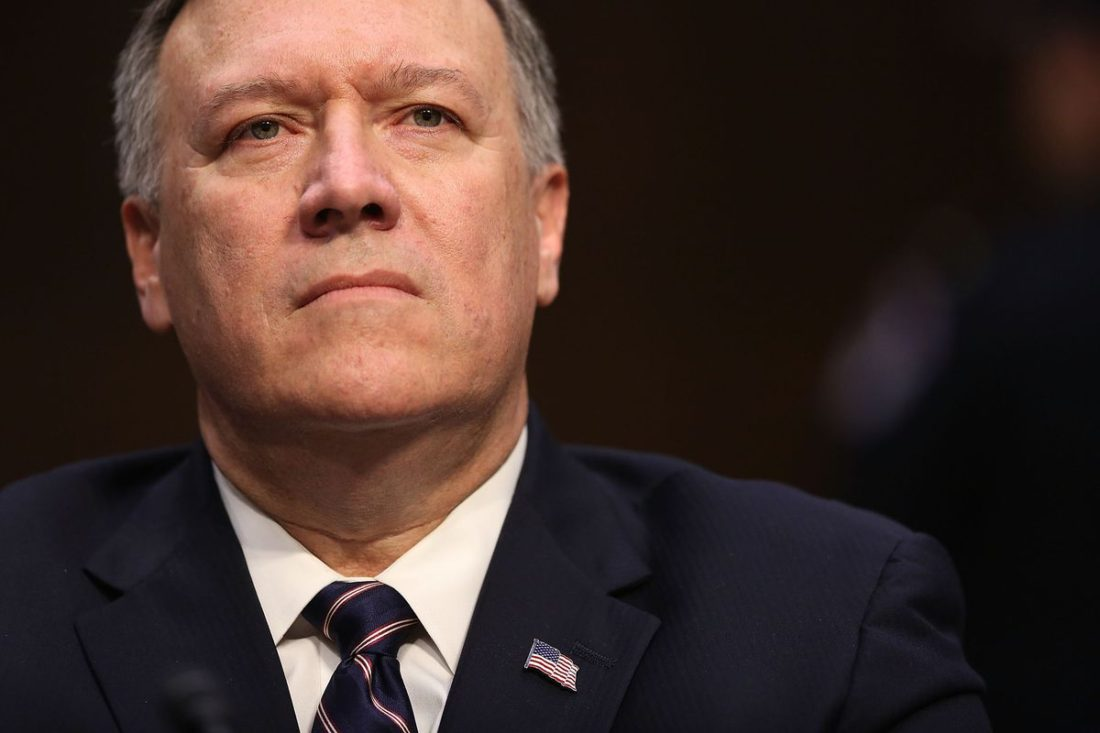 Scretary of State Mike Pompeo