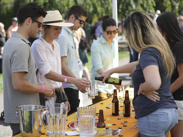 Øl smagning på Botanisk Have